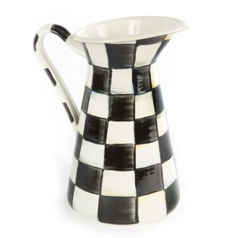 MacKenzie-Childs  Courtly Check Practical Pitcher - Medium $88.00