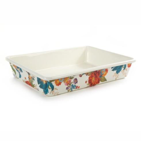 "MacKenzie-Childs  Flower Market  Baking Pan - 9"" x 13"" $85.00"