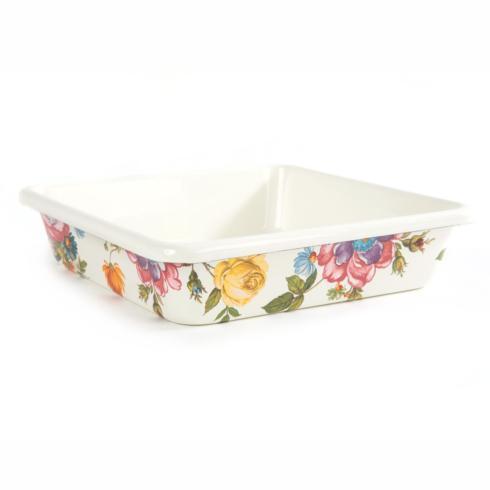 "MacKenzie-Childs  Flower Market  Baking Pan - 8"" $65.00"