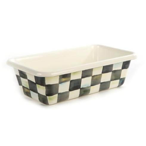 MacKenzie-Childs Courtly Check Kitchen Enamel Loaf Pan $48.00