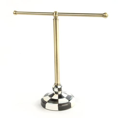 $125.00 Courtly Check Tea Towel Stand