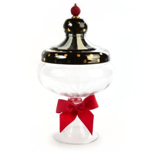 $168.00 Black Tie Apothecary Jar - Large