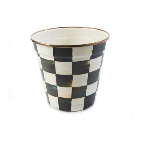 $55.00 Enamel Garden Pot - Medium