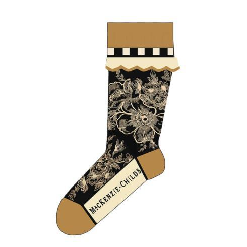 $28.00 Wild Rose Ankle Socks