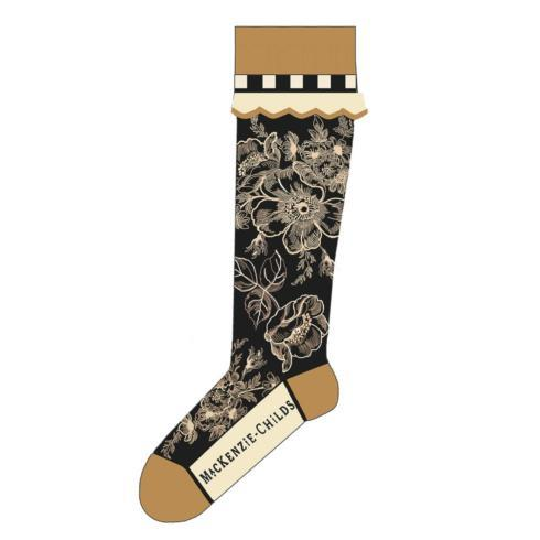 $34.00 Wild Rose Knee Socks