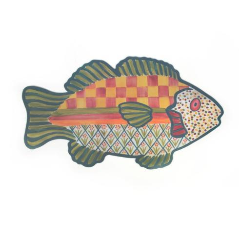 $28.00 Freckle Fish Pet Placemat