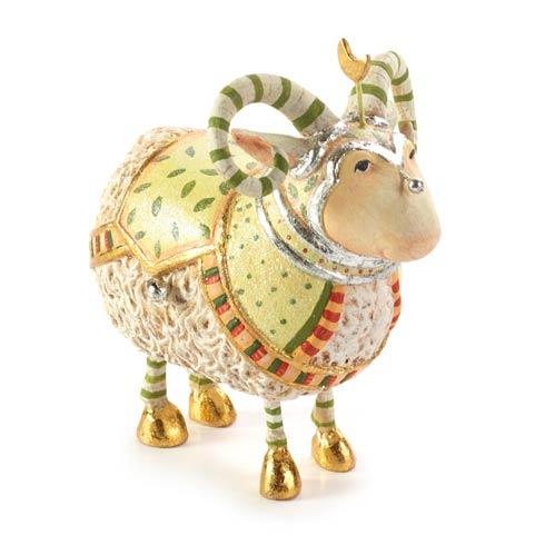 $48.00 Manger Ram Figure