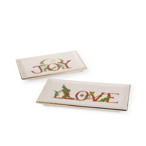 $58.00 Joy & Love Trinket Trays