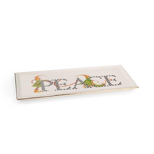 $58.00 Peace Trinket Tray