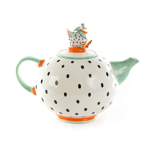 $148.00 Speckled Teapot