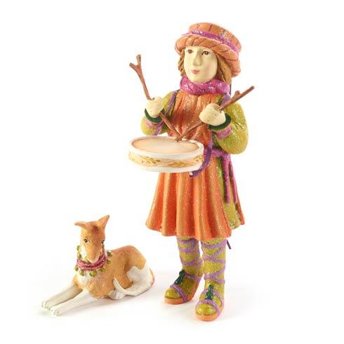 $68.00 Little Drummer Boy & Dog Figures