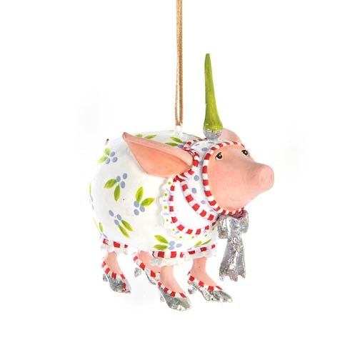 Noah\'s Ark Nanette Pig Mini Ornament