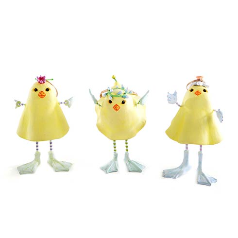 $88.00 Marshmallow Chick Ornaments - Set Of 3