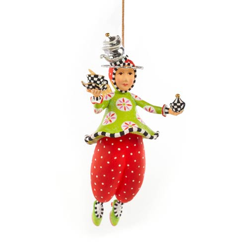 $65.00 Paradise In A Cup Angel Ornament