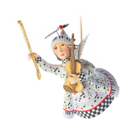 $68.00 Music Is Paradise Ornament
