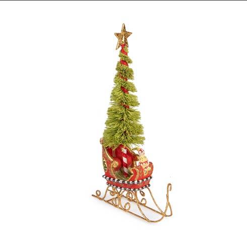 $48.00 Mini Sleigh with Tree