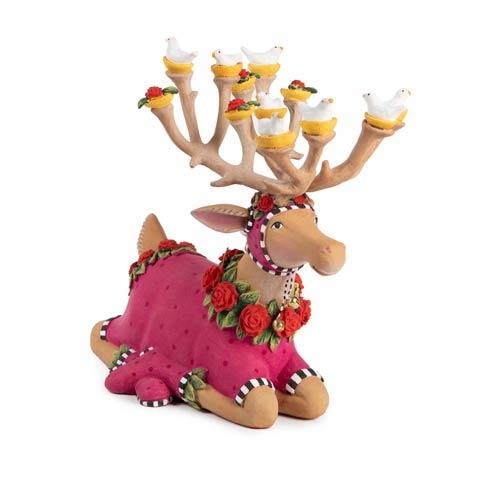 $98.00 Sitting Donna Reindeer Figure