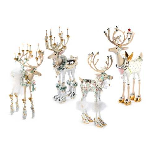 $395.00 Moonbeam Reindeer Figure Set - A