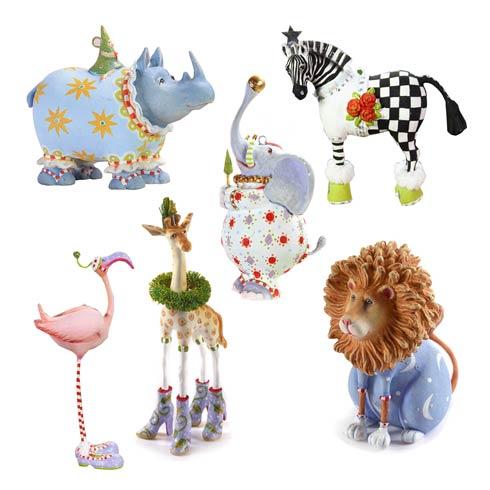 $124.00 Jambo Mini Ornament Set
