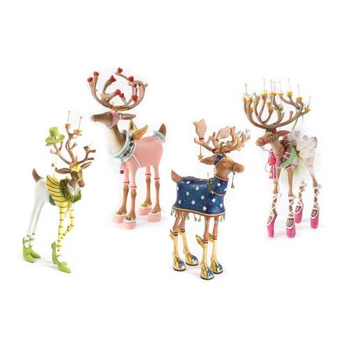 $375.00 Reindeer Figure Set-B