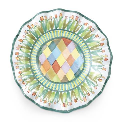 $78.00 Taylor Fluted Rim Luncheon Plate - Poplar Ridge