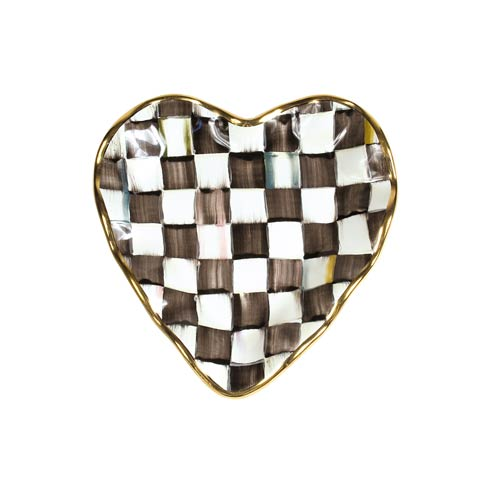 Fluted Heart Plate