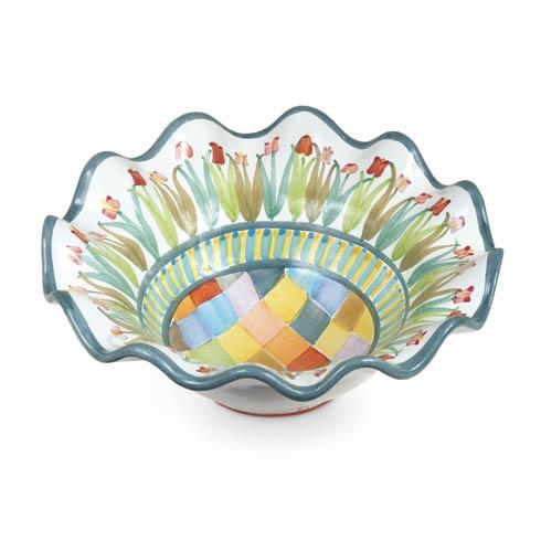 $78.00 Taylor Fluted Rim Breakfast Bowl - Poplar Ridge