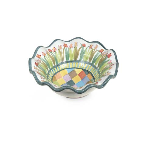 $65.00 Taylor Fluted Rim Berry Bowl - Poplar Ridge
