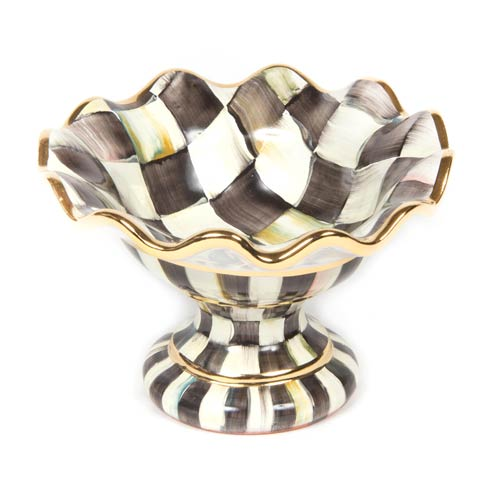 MacKenzie-Childs  Courtly Check Mini Compote $195.00