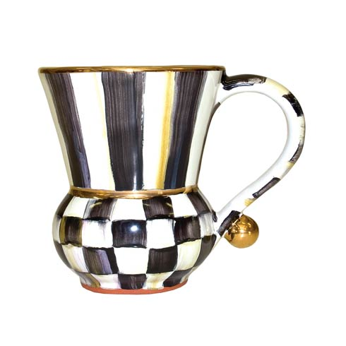 MacKenzie-Childs Courtly Check Tabletop Mug $135.00