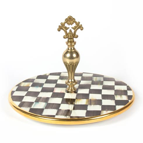 MacKenzie-Childs  Courtly Check Cheese Course $265.00