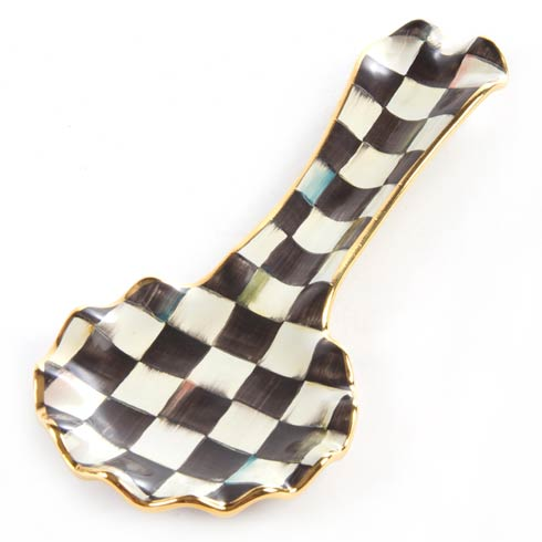 MacKenzie-Childs  Courtly Check Spoon Rest $105.00