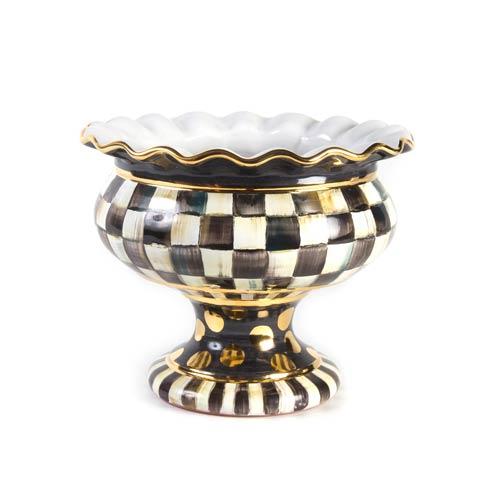 MacKenzie-Childs  Courtly Check Stoutly Vase $435.00