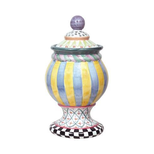 $198.00 Taylor Globe Canister - Odd Fellows