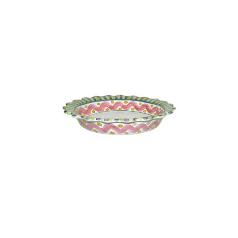 MacKenzie-Childs  Piccadilly 10 In.  Pie Plate $88.00