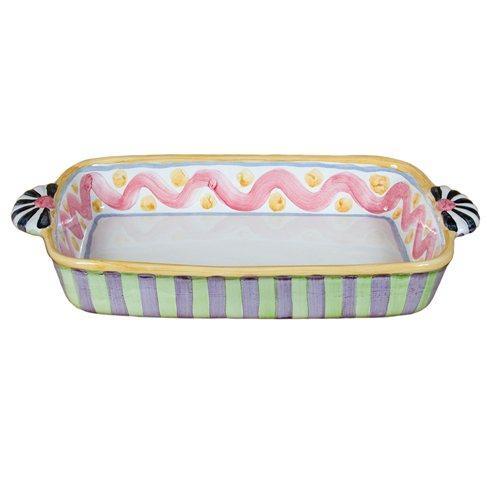 MacKenzie-Childs  Piccadilly Baking Dish $155.00