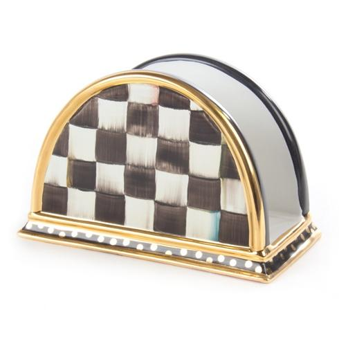 MacKenzie-Childs  Courtly Check Napkin Holder $210.00