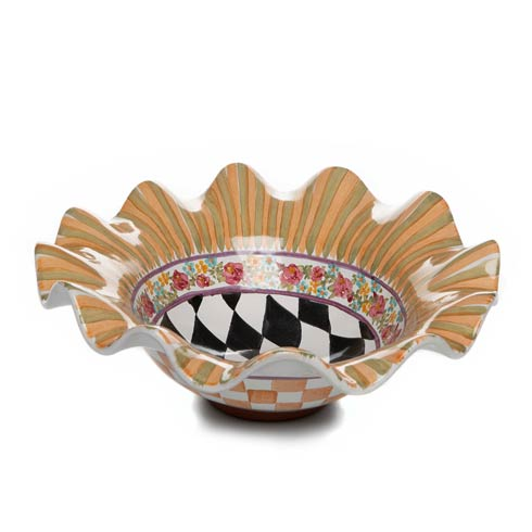 $155.00 Taylor Small Fluted Serving Bowl - Odd Fellows