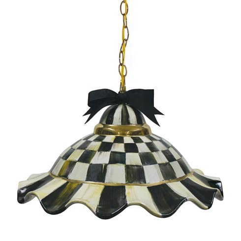 $595.00 Fluted Hanging Lamp