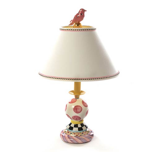 $595.00 Super Pink Bulbous Lamp