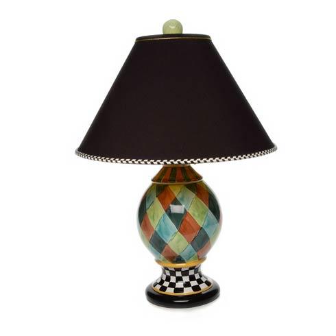 $595.00 Jester Medium Globe Lamp - Blue