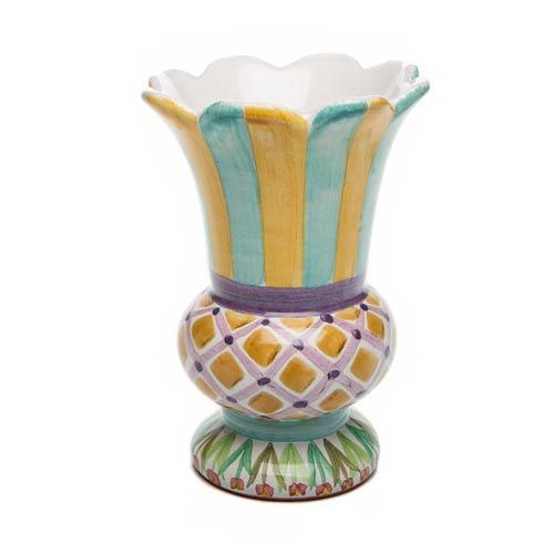$135.00 Taylor Scalloped Vase - Odd Fellows