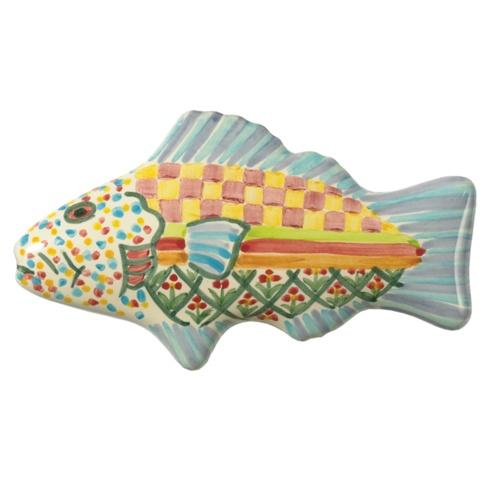 $38.00 Fish Knob Left - Blue