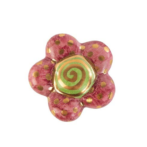 $35.00 Super Swirl Floral Knob