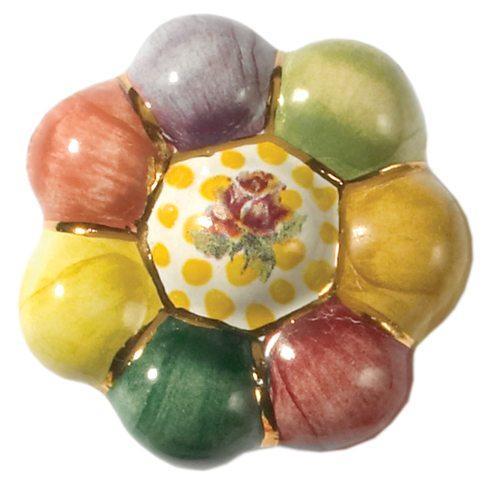 $35.00 Flower Knob - Rosie Posie