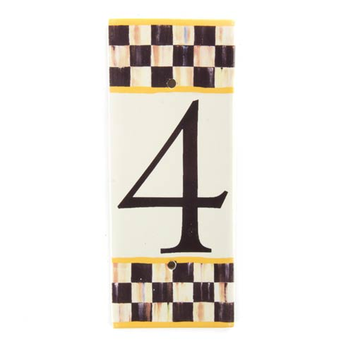 $28.00 House Number - 4