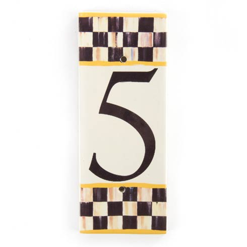 $28.00 House Number - 5