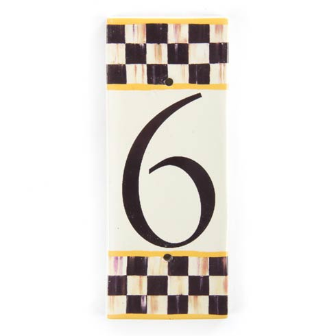 $28.00 House Number - 6