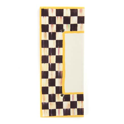 $28.00 Courtly Check House Number - End Cap