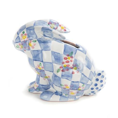 $98.00 Quilted Bunny Bank - Blue